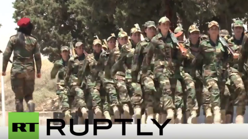 Syrien: Frauen-Bataillon im Kampf gegen den IS
