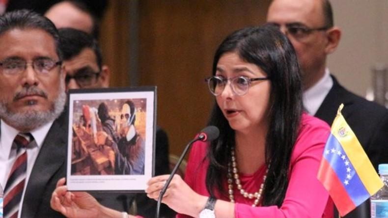 Venezolanische Außenministerin dekonstruiert Vorwürfe zu politischen Gefangenen