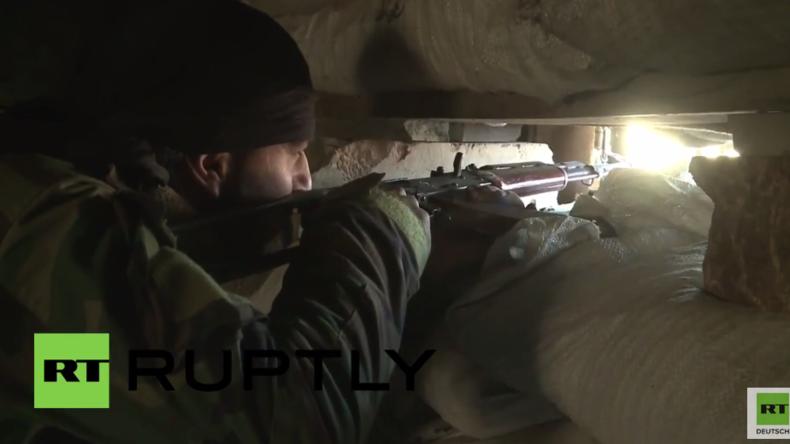 Der unterirdische Krieg von Damaskus: Anhaltende Kämpfe in IS-Tunneln unter Jobar