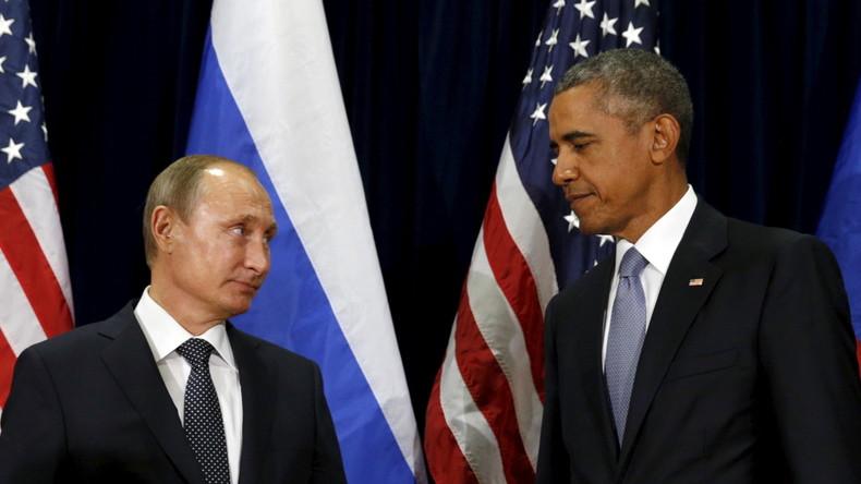 Weihnachtswunder: Wladimir Putin als US-Präsident, Barack Obama als Staatschef Russlands