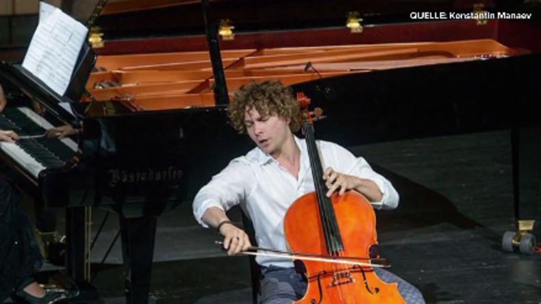 Völkerverständigung durch Musik - Der russische Cellist Konstantin Manaev im RT Deutsch-Interview