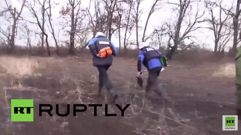Ukraine: OSZE-Beobachtungsmission gerät im Donezker Gebiet unter Beschuss