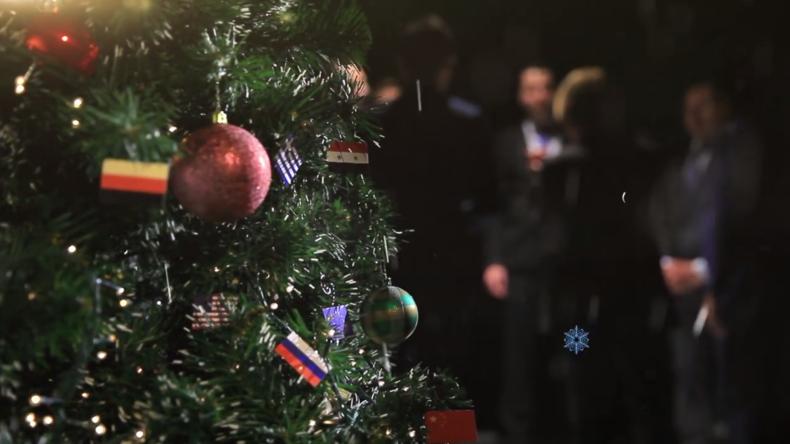 Geschenke unterm Weihnachtsbaum der Weltpolitik