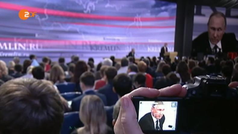 """Programmbeschwerde gegen ZDF-Beitrag """"Putin und seine Presse-Inszenierung"""""""