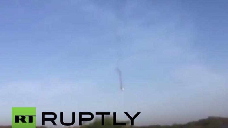 Jemen-Krieg: F-16-Jet der Saudi-geführten Koalition stürzt ab