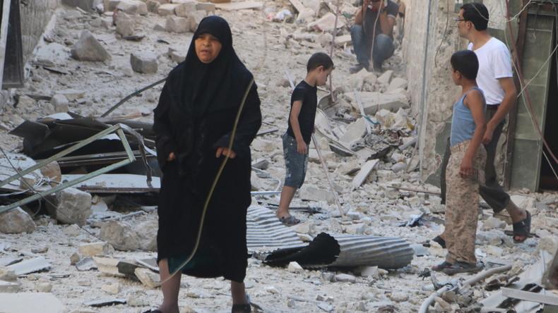 """""""USA haben Syrien Frieden und Sicherheit gebracht"""": Kopfschütteln und Gelächter über Washington"""