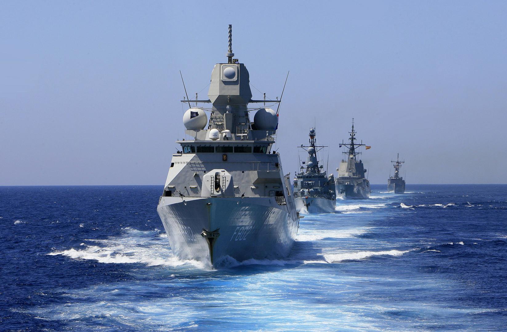 Symbolbild - Königlich niederländische Kriegsflotte im Einsatz im Mittelmeer