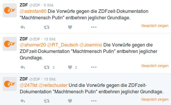 Quelle ZDF auf Twitter: https://twitter.com/ZDF/with_replies