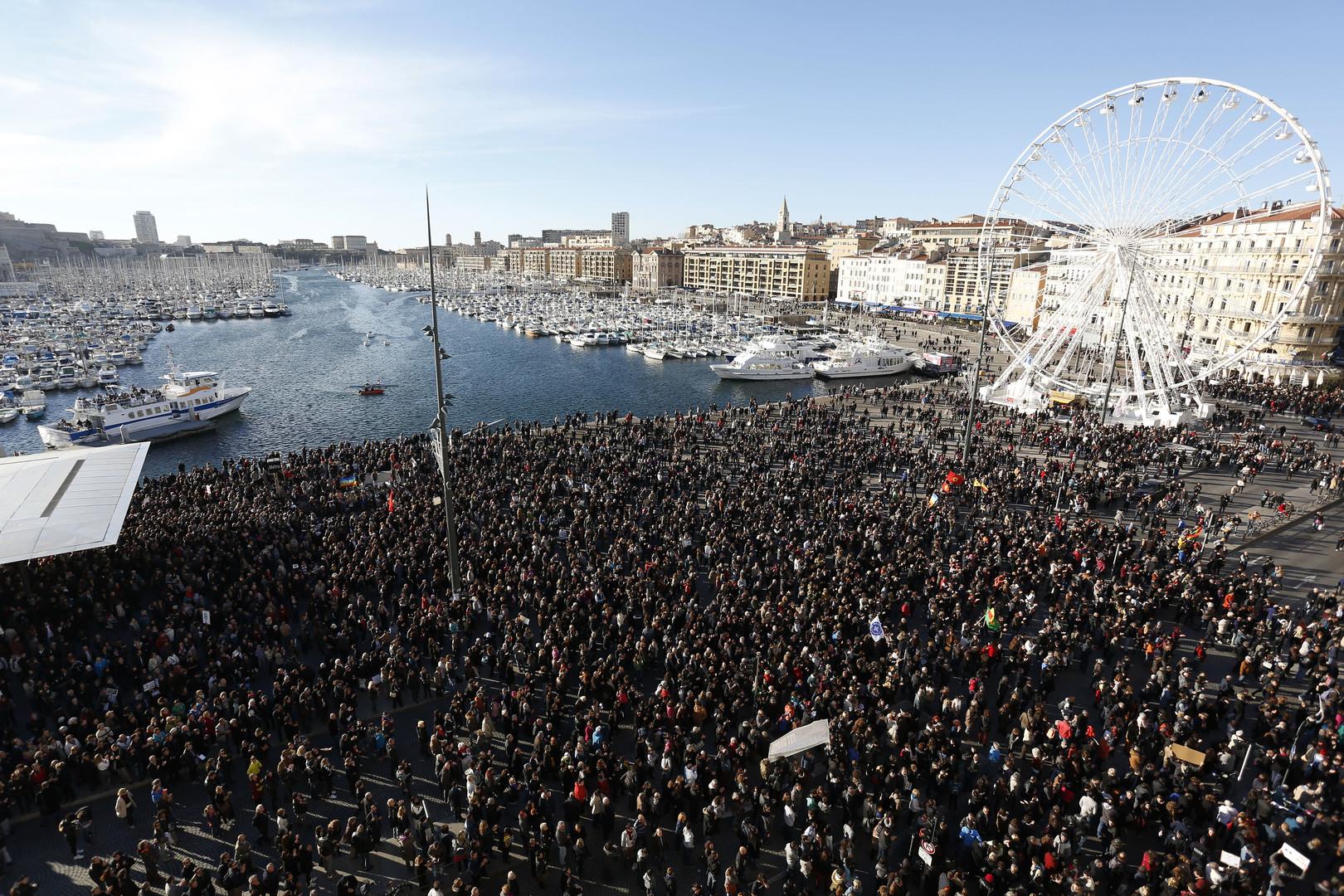 Globaler Protest-Rückblick 2015 - Ein Jahr der Massendemonstrationen