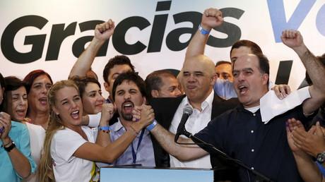 Die Opposition bejubelt ihren Wahlsieg in Venezuela