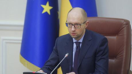 Premierminister Jazenjuk