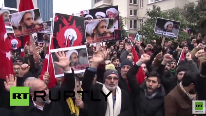 Überall auf der Welt wütende Proteste nach Hinrichtung von al-Nimr in Saudi-Arabien