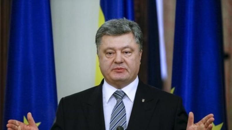 """Poroschenko manipuliert Titelseite des Economist mit """"Führern der Welt 2017"""""""