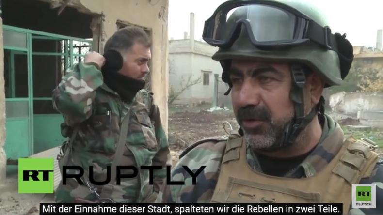 Syrisch Arabische Armee auf dem Vormarsch: Nächstes Ziel Scheich Maksin im Süden Syriens