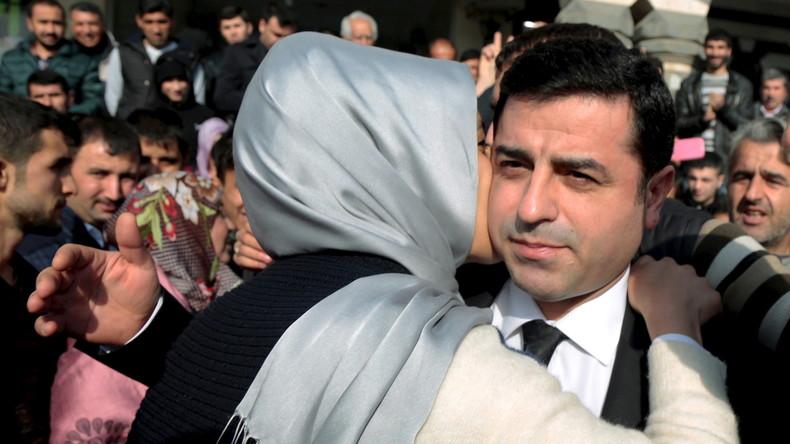 Im Visier der türkischen Justiz: Selahattin Demirtaş, stellvertretenden Vorsitzenden der kurdischen Partei HDP.