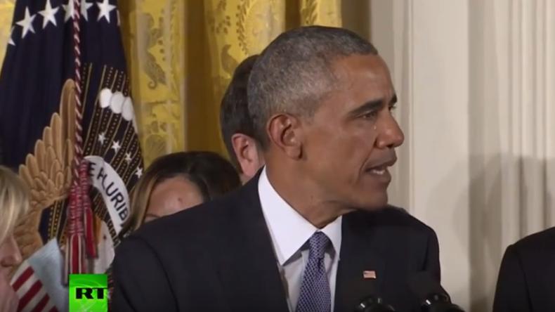 Strengere Waffengesetze für die USA: Obama erinnert an getötete Kinder und bricht in Tränen aus
