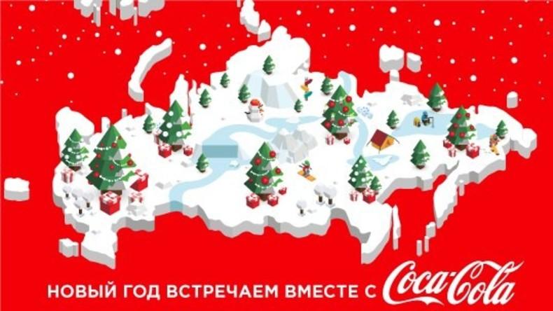 Wegen Russland-Karte mit Halbinsel Krim fordert Ukraine Verbot und Boykott von Coca-Cola