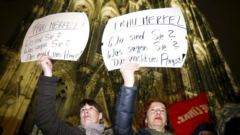 Nach Übergriffen in der Silvester-Nacht: Empörung und Proteste in Köln