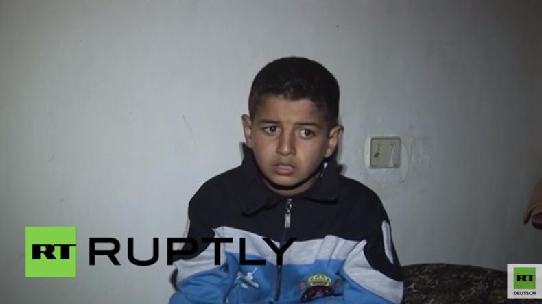 Syrien: Ein Kind erzählt vom Leben unter IS-Herrschaft