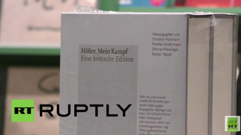 """Hitlers """"Mein Kampf"""" wieder in deutschen Buchhandlungen - Was sagen die Buchhändler?"""