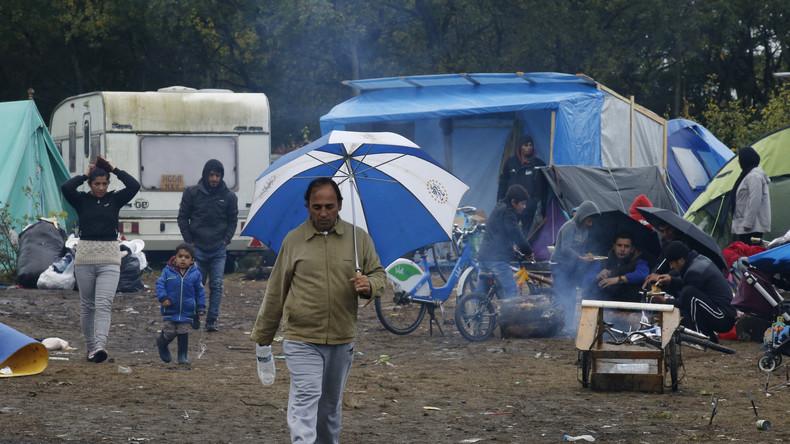 Der kleine Bruder des Dschungels von Calais - Das Flüchtlingslager von Grande-Synthe