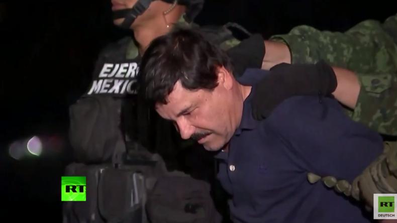 """Weltweit meistgesuchter Drogenboss """"El Chapo"""" zum dritten Mal gefasst"""