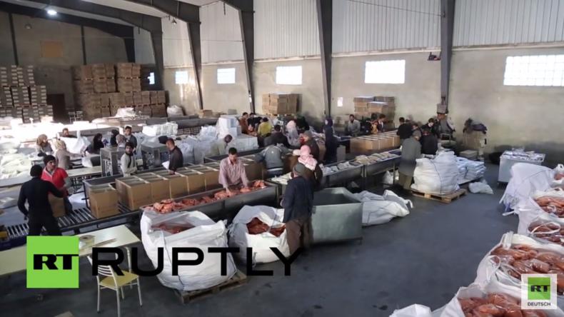 Syrien: Videoaufnahmen zeigen UN-Hilfsgüter für Madaja