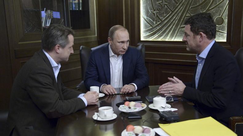 Zusammenfassung des Putin-Interviews mit der BILD-Zeitung