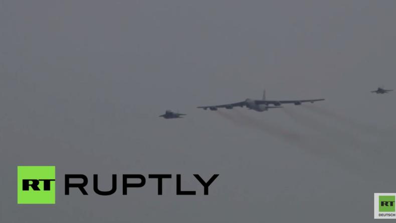Nach Wasserstoffbombentest von Nordkorea: US-Langstreckenbomber über Südkorea im Einsatz