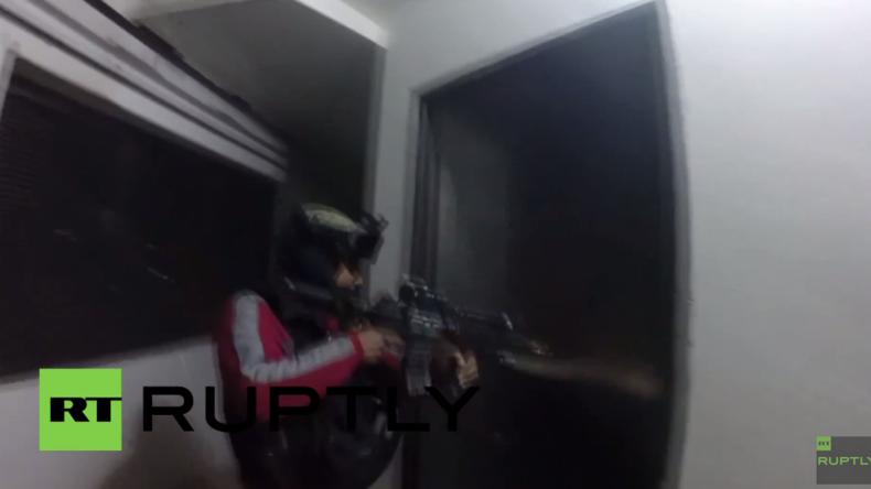 Mexiko: Video zeigt dramatische El-Chapo-Stürmung inklusive heftiger Feuergefechte