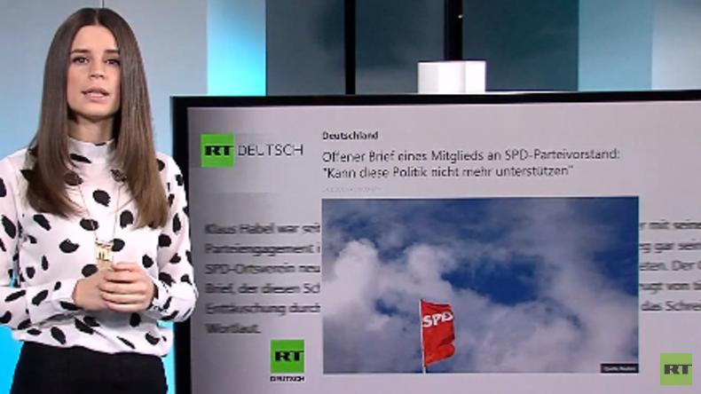 Nach dem Austritt - Ex-SPD-Mitglied Klaus Habel im RT Deutsch-Gespräch