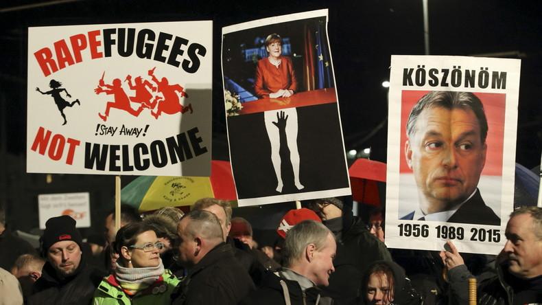 Ein Jahr Legida: Demo-Marsch, Hooligan-Krawalle und Gegenproteste in Leipzig