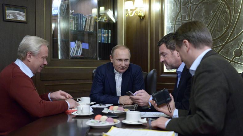 Zusammenfassung des zweiten Teils des Putin-Interviews mit der BILD-Zeitung