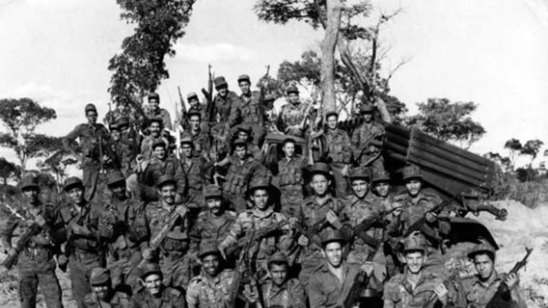 Kubanische Kampfeinheit in Angola