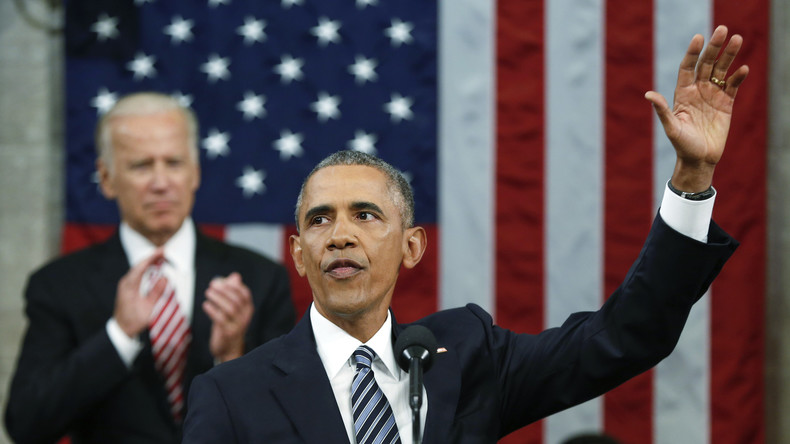 Obamas letzte Ansprache zur Lage der Nation: Wir sind die Besten und Größten - Punkt!