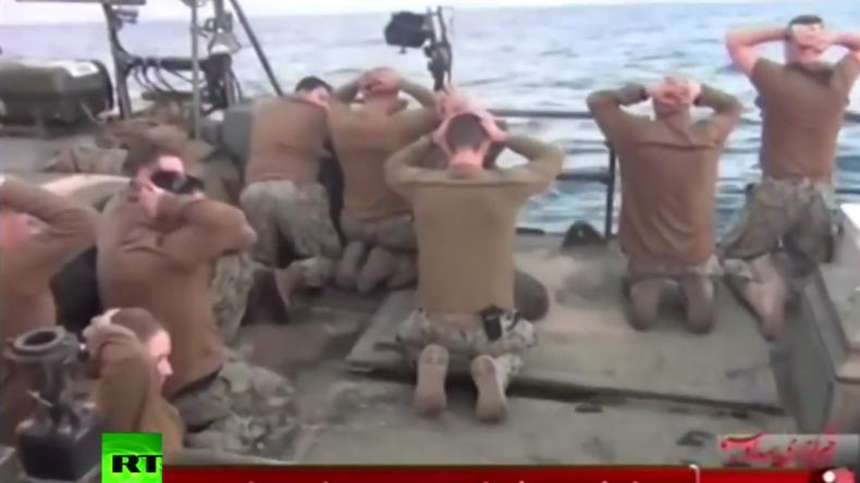 Iran: Zehn US-Soldaten wegen Eindringen in iranische Hoheitsgewässer festgenommen
