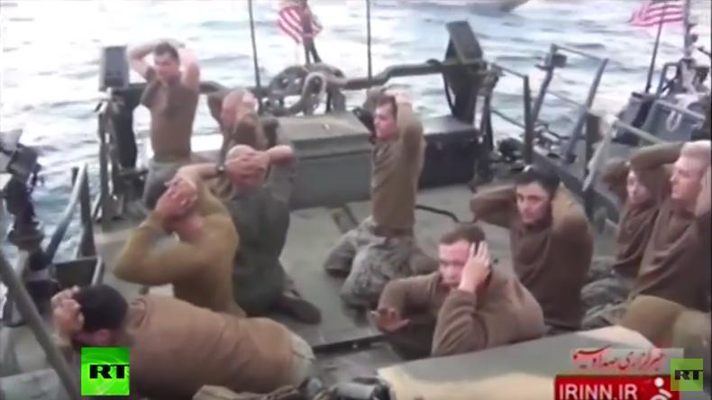Iran veröffentlicht exklusives Videomaterial zu Vorfall mit US-Kommandobooten