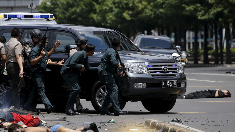 "Indonesien: Terrorangriff des ""Islamischen Staates"" in Jakarta"
