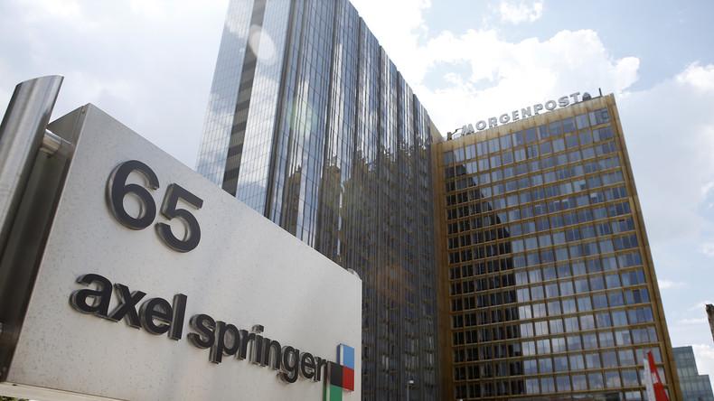 BILD berichtet über Syrien lieber aus der sicheren Distanz des Axel-Springer Gebäudes in Berlin-Mitte