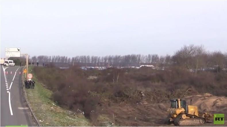 Live: Calais Flüchtlingscamp wird geräumt