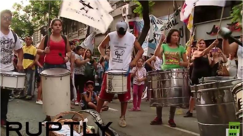 Argentinien: Proteste gegen die Festnahme der politischen Aktivistin Milagro Sala