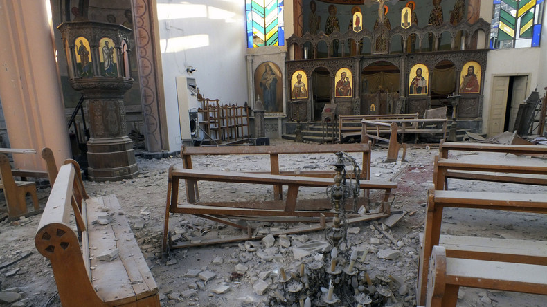 RT-Spezial: Verkauf christlicher Artefakte füllt Kriegskasse von al-Nusra