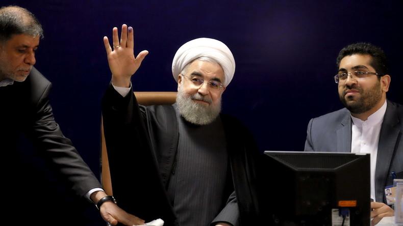 Iran: Präsident Ruhani sieht nach Aufhebung der Sanktionen goldene Zeiten für Wirtschaft kommen