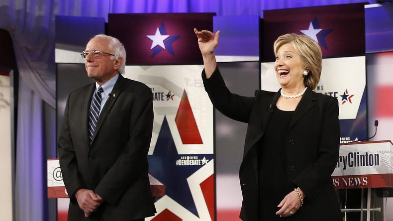 Bernie Sanders vs. Hilllary Clinton - Nominierungswahlkampf bei Demokraten vor dem Finale