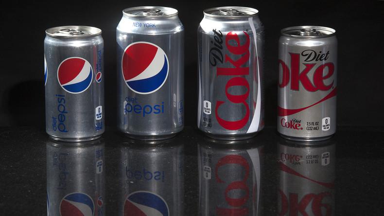 Studie: Diät-Getränke helfen besser beim Abnehmen als Wasser - Finanziert von... Coca-Cola & Pepsi