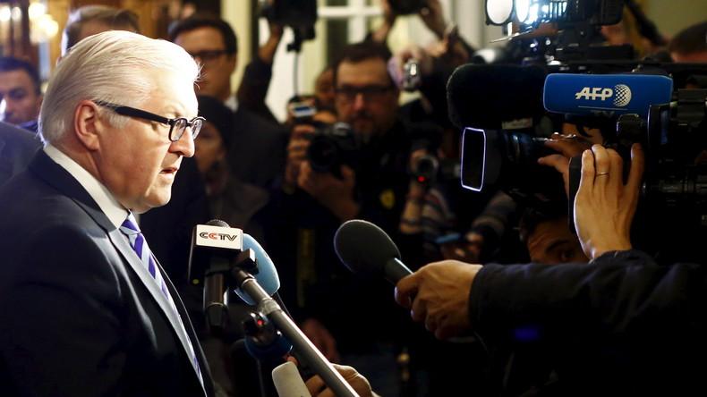 Steinmeier tritt für Wiederaufnahme der Gespräche im Rahmen des Russland-NATO Rates ein