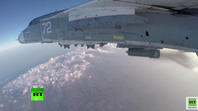 Syrien: Russische Luftwaffe tötet 60 Kämpfer des Islamischen Staats in Deir ez-Zor