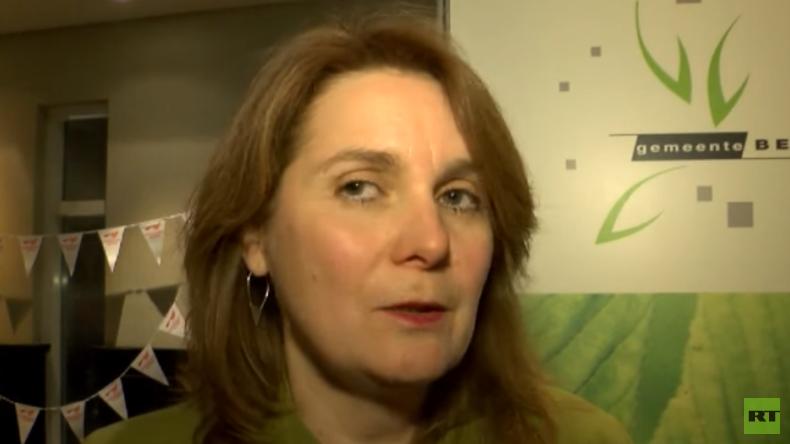 Die Bürgermeisterin der niederländischden Kleinstadt Heesch