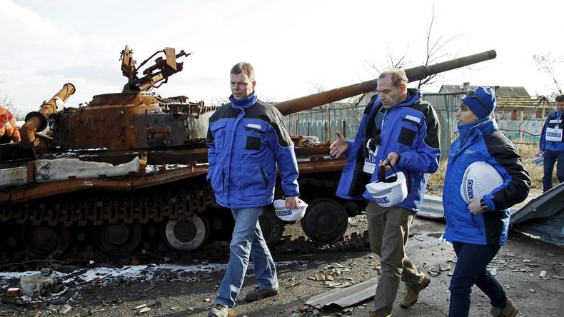Live: OSZE Vize-Leiter der Beobachterkommission Alexander Hug gibt Pressebriefing zu Ukraine in Kiew
