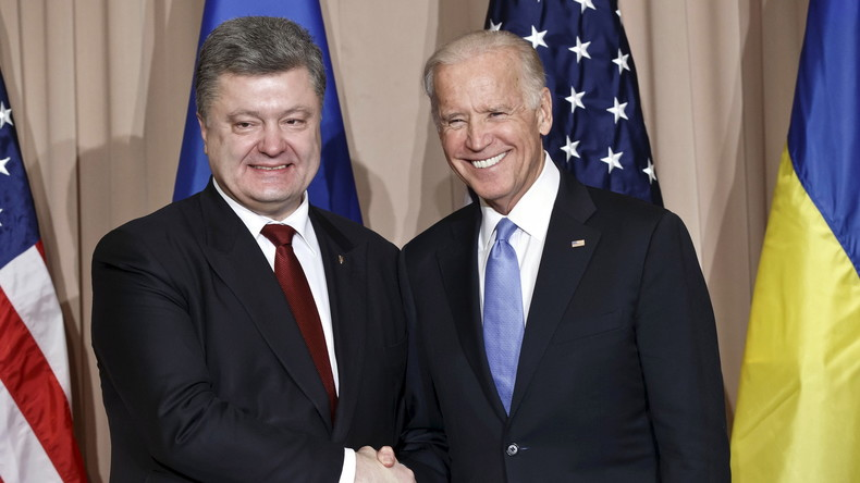 Poroschenko: US-Vize Biden und ich wollen gemeinsam North-Stream 2 stoppen